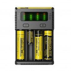 NITECORE INTELLICHARGER NEW I4 4 BAY CHARGER (BATTERIES NOT INCLUDED)