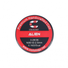 Coilology Alien Handcrafted DIY Prebuild Coils (2pcs/pack)