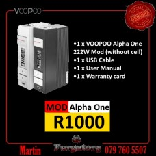 Voopoo Alpha One 222w Mod For Only R870